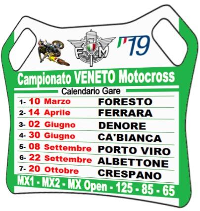Calendario Veneto.Campionati Veneto E Triveneto Motocross 2019 Fmi Comitato